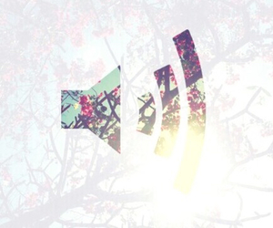 music, flowers, and background image