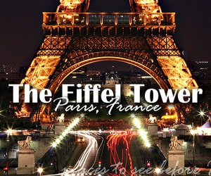 destination, eiffel tower, and europe image