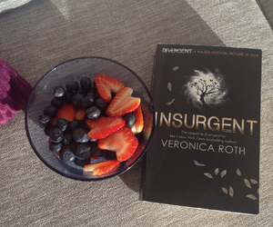 blueberry, insurgent, and divergent image