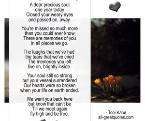 grief, loss, and memorial image