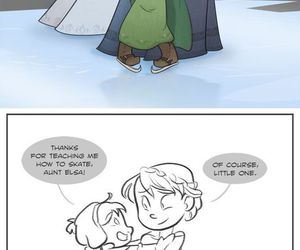 comics, frozen, and lol image