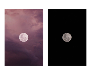 black, pink, and sea image