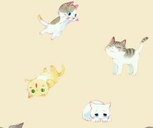 cat, wallpaper, and cute image