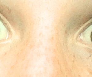 beautiful, eyes, and freckles image