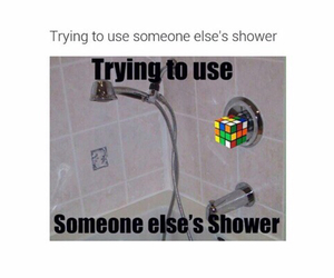 funny, shower, and lol image