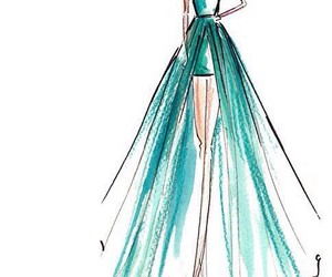 Taylor Swift, drawing, and dress image