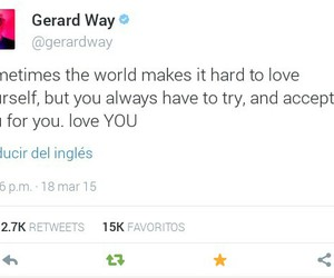 gee, gerard way, and mcr image