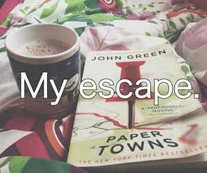 book, john green, and read image