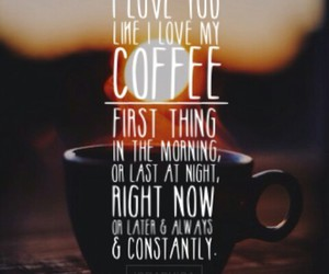 coffee, Hot, and morning image