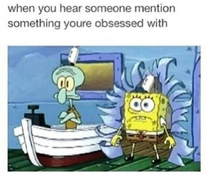 funny, spongebob, and fandom image