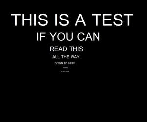 test, funny, and quotes image