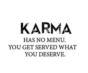 karma, quotes, and true image