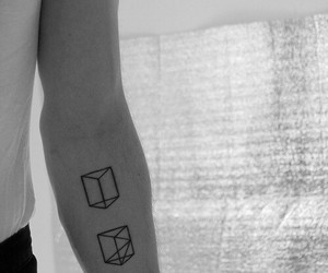 tattoo, boy, and hipster image