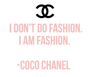 chanel, coco chanel, and fashion image