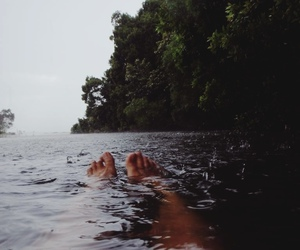nature, water, and indie image