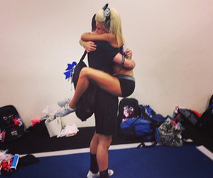 blonde, ca, and cheer image