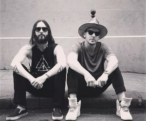 jared leto, shannon leto, and 30 seconds to mars image