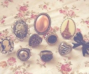 rings, vintage, and paris image