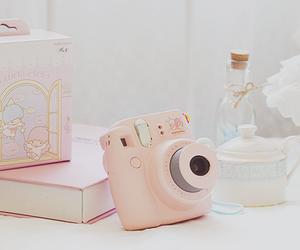 camera, pink, and kawaii image