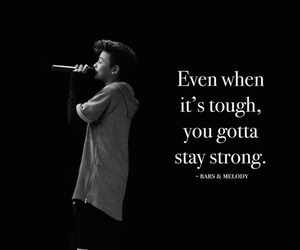bars and melody and stay strong image
