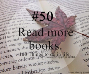 book, 50, and read image