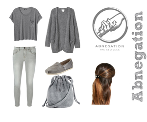 divergent, abnegation, and fashion image