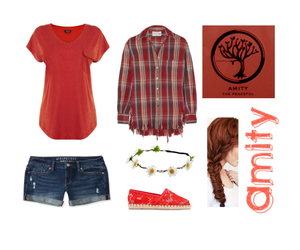 amity, outfit, and divergent image