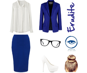 erudite, outfit, and divergent image