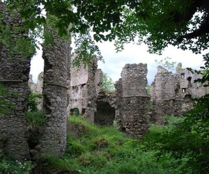 castle, history, and nature image