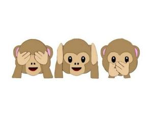 monkey, overlay, and emoji image