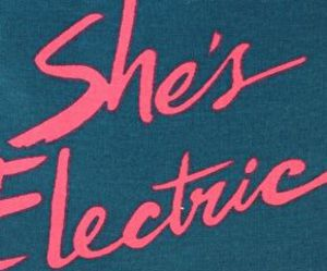 oasis, song, and shes electric image