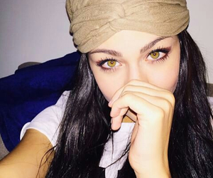 eyes, beautiful, and andrea russett image