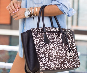accessoires, bag, and dress image