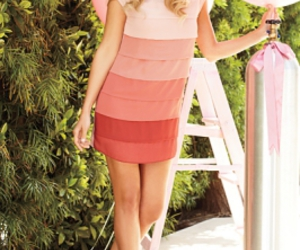 actress, blonde, and dress image