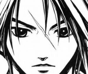 leon, manga, and kingdom hearts image