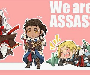 connor kenway, edward kenway, and assassin's creed image