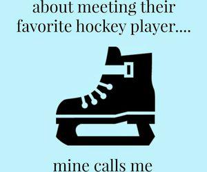 meet, nhl, and skate image