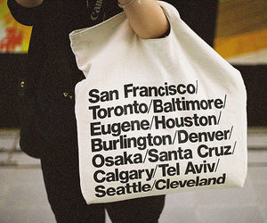 bag, city, and american apparel image