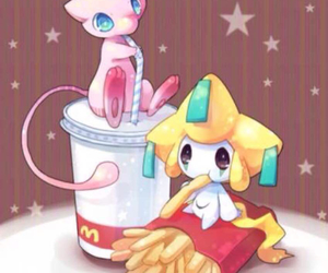 pokemon, mew, and jirachi image