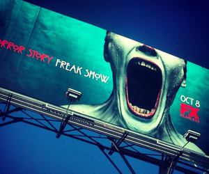 freak show, horror, and american horror story image