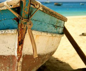 boat, sand, and indie image