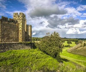 alnwick, medieval, and castle image