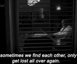 greys anatomy, lost, and quote image