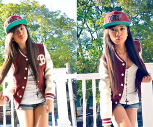 swag, girl, and obey image