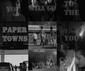 john green, paper towns, and ciudades de papel image