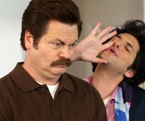 parks and recreation and ron swanson image