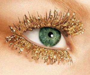 gold, eyes, and eye image