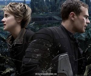 four, insurgent, and Shailene Woodley image