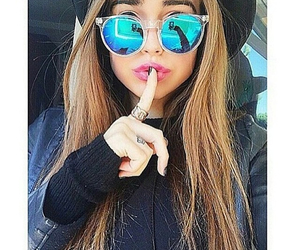 girl, sunglasses, and fashion image