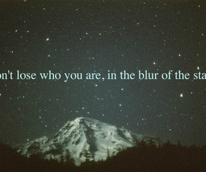 stars, text, and quote image